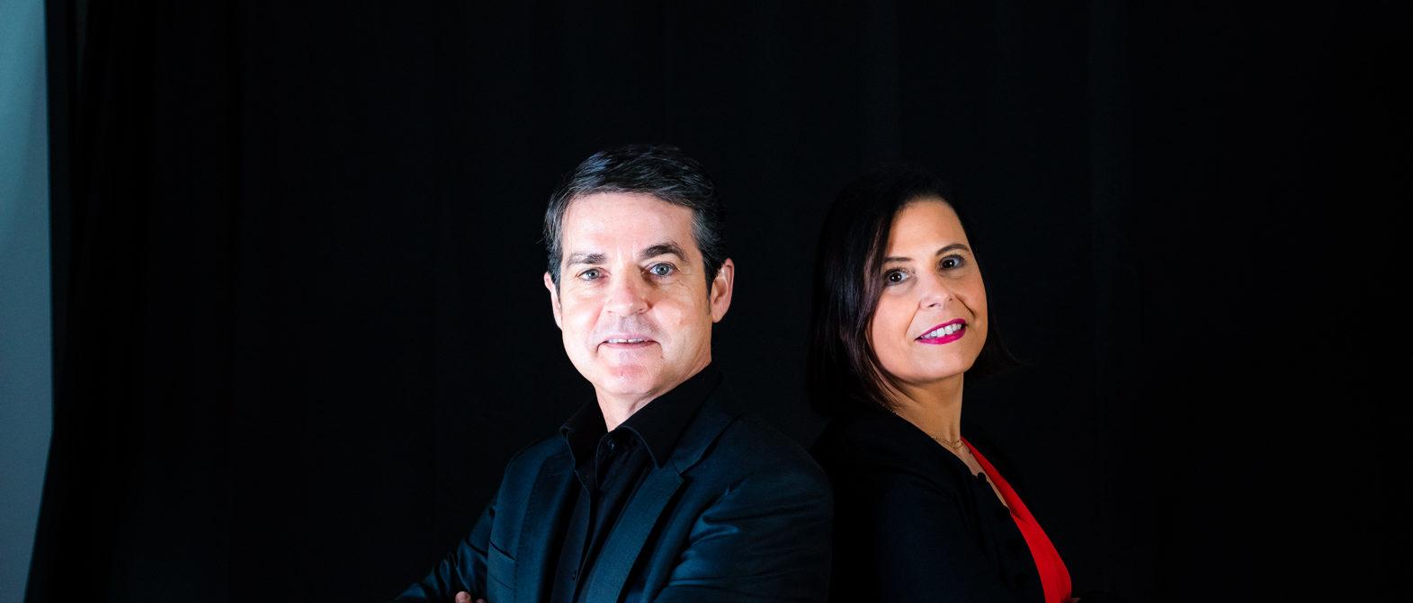 Portraits de Christophe Alvarez et Agnès Pierre, co-auteurs du livre Libérez votre Futur